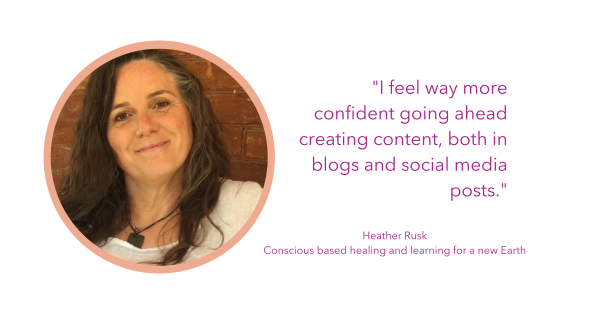 Heather Rusk provides a testimonial about the FInd Your Voice writing program